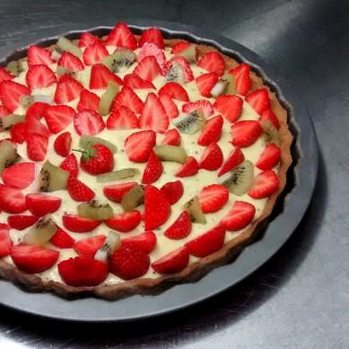 Erdbeer-Kiwi, Scheunecafé